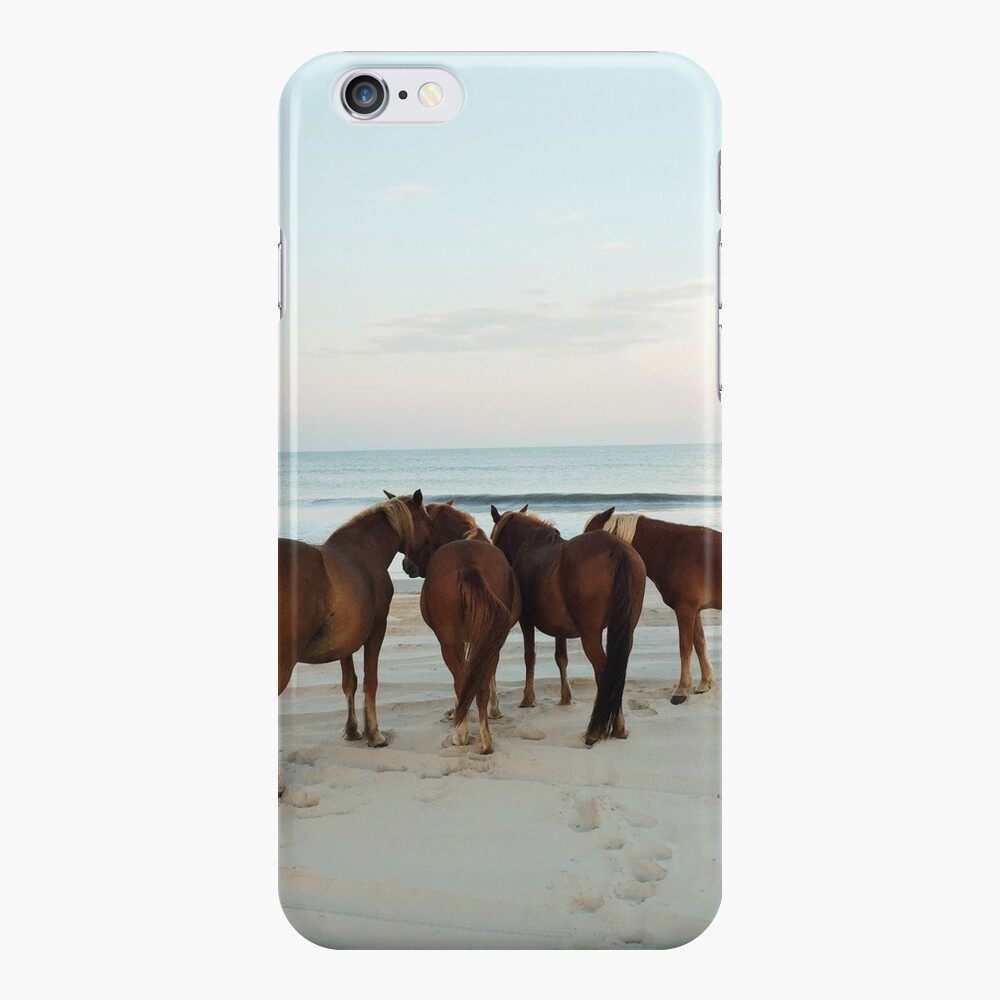 Coastal Horse Meeting iPhone Cases & Covers
