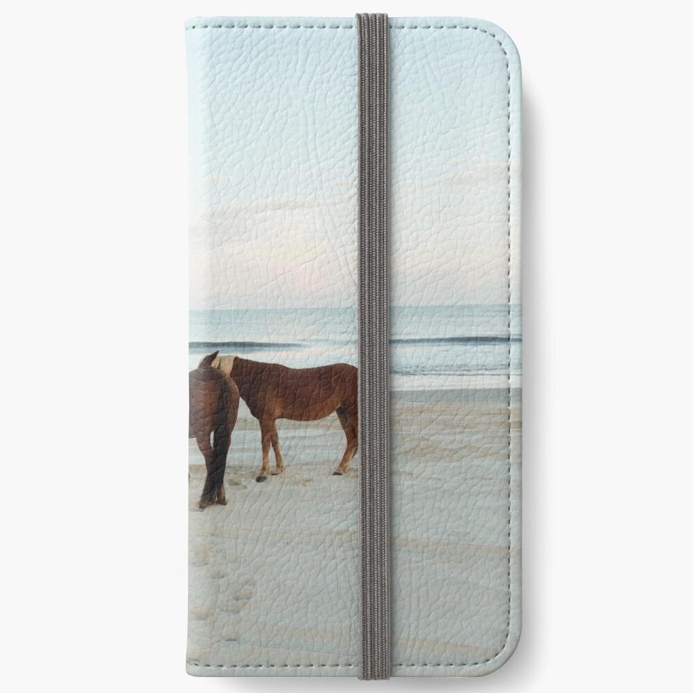 Coastal Horse Meeting iPhone Wallet
