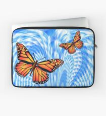 Butterflies in a Blue Sky Laptop Sleeve