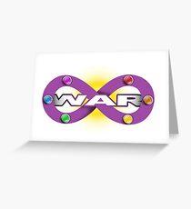 Infinity War Greeting Card