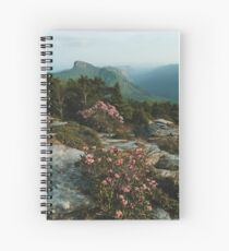 North Carolina Blue Ridge Mountains  Spiral Notebook