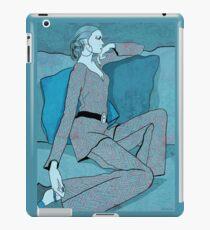 Blue Motel Room iPad Case/Skin