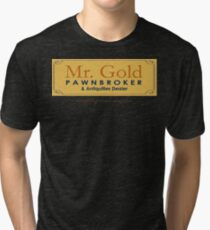 Mr Gold's Pawn Shop Tri-blend T-Shirt