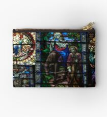 Stained Glass Windows Collage Studio Pouch