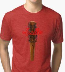 Lucille Barb Wire Baseball Bat T-Shirt Tri-blend T-Shirt