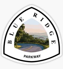 Bue Ridge National Parkway Sticker