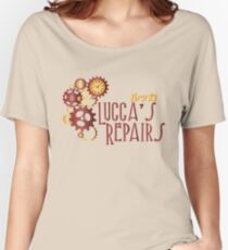 Lucca's Repairs Women's Relaxed Fit T-Shirt