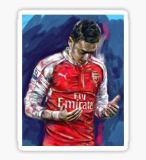 Mesut Ozil - the Ozil touch Sticker