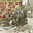 Quote - The end of the war by Adarve  Photocollage