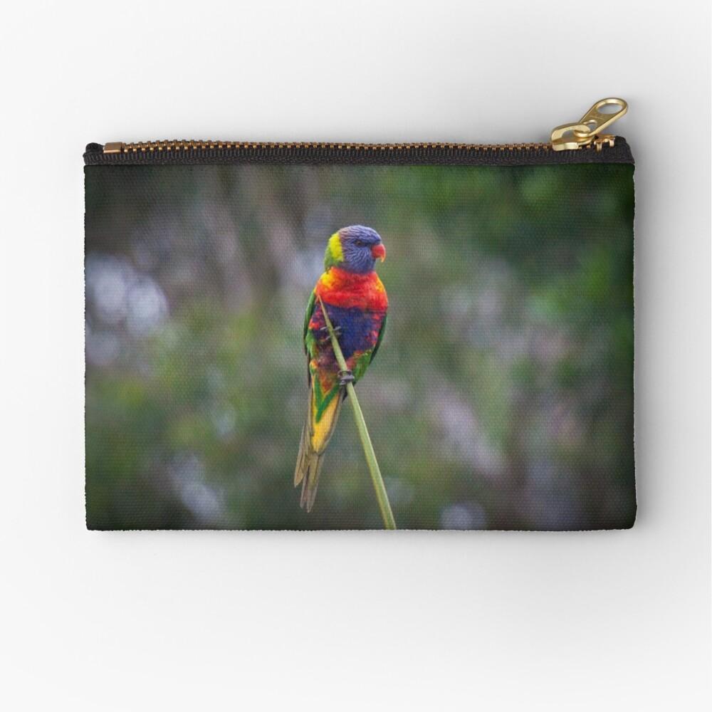 Bird on a wire Zipper Pouch