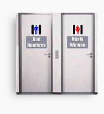Bathroom Humor Canvas Print