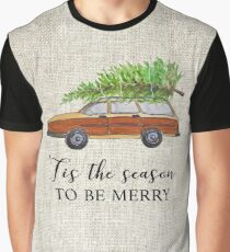 Christmas vacation, tis the season to be merry! Graphic T-Shirt