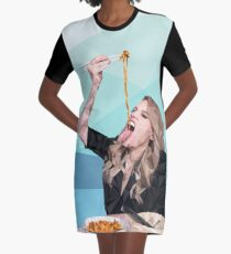 Kate McKinnon lowpoly Graphic T-Shirt Dress