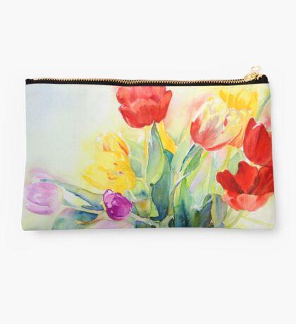 Tulip Rainbow #2 Studio Pouch