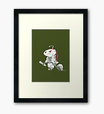A day on the Reddit Frontlines Framed Print