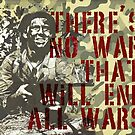 Quote - War no ends war by Adarve  Photocollage