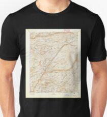 USGS TOPO Map California CA Big Trees 299215 1894 125000 geo Unisex T-Shirt