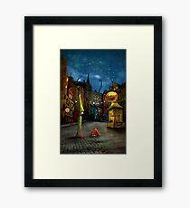 'Silent Street' Framed Print