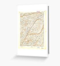 USGS TOPO Map California CA Big Trees 299215 1894 125000 geo Greeting Card