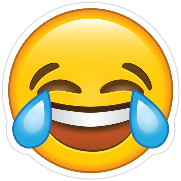Smiley Qui Pleure De Rire
