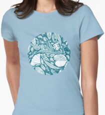 Magical nature findings Womens Fitted T-Shirt