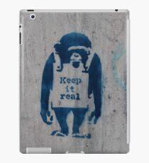 KEEP IT REAL - MONKEY iPad Case/Skin