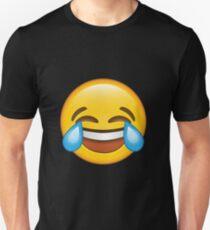Laughing Crying/Tears of joy Emoji Unisex T-Shirt