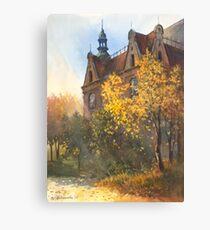 Fall theme Canvas Print