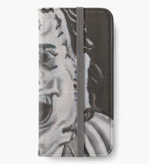 Leather face iPhone Wallet/Case/Skin