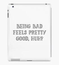 The Breakfast Club - Being bad iPad Case/Skin