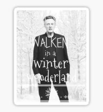 Walken Ugly Sweater Sticker