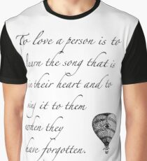 Beautiful quote on love Graphic T-Shirt