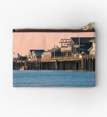 Stearns Wharf, Santa Barbara  Studio Pouch