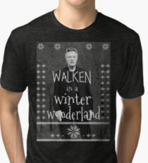 Walken Ugly Sweater Tri-blend T-Shirt