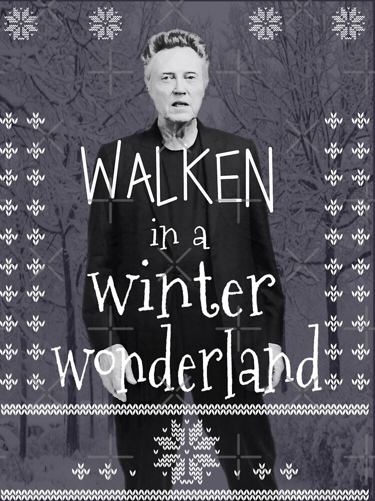 Walken Ugly Sweater by buckwild