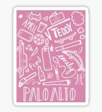Palo Alto Sticker