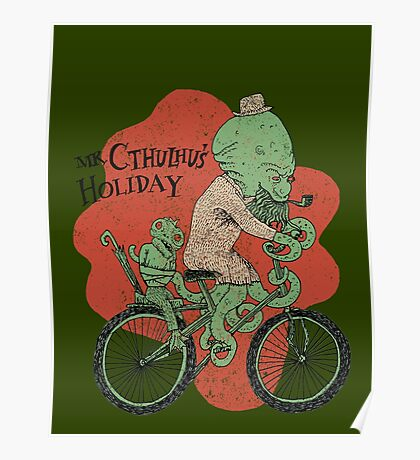 Mr. Cthulhu's Holiday Poster