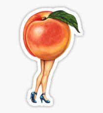 Fruit Stand - Peach Girl Sticker