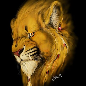 Lion character by Jamaal-Raoof