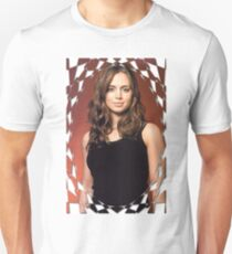 Buffy Angel Faith Eliza Dushku 2 T-Shirt