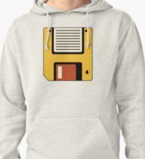 Floppy Disc | Tech | Retro Art Pullover Hoodie