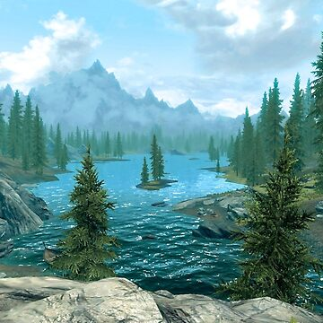 Skyrim Landscape by xendanceshop