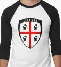 Sardinia - crest Men's Baseball ¾ T-Shirt