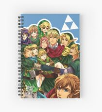 Legend of Link Spiral Notebook