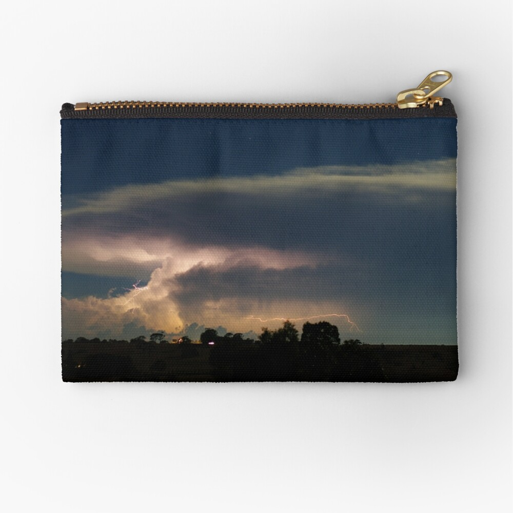 March Storms Zipper Pouch