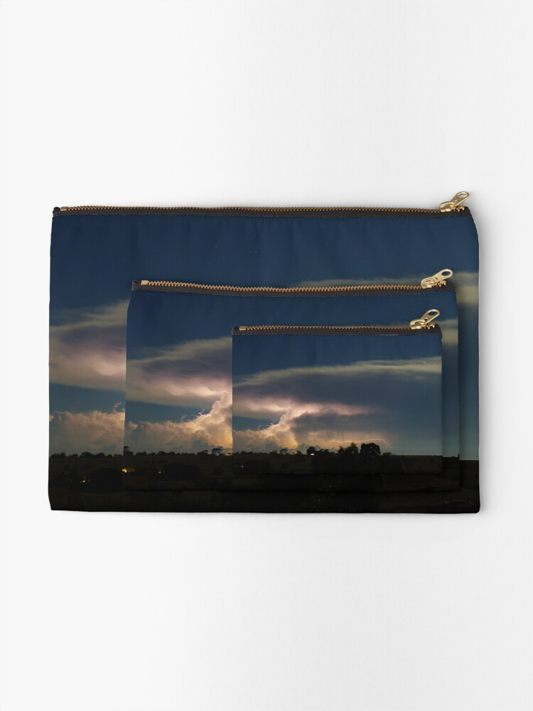 Alternate view of March Storms Zipper Pouch