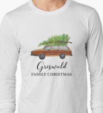 Christmas vacation Griswold family Christmas Long Sleeve T-Shirt