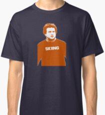 John Belushi Skiing Classic T-Shirt