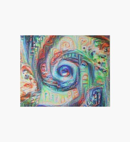 Vortex dragon #DeepDream A Art Board Print
