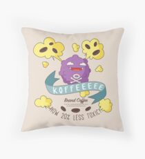 Koffee Throw Pillow